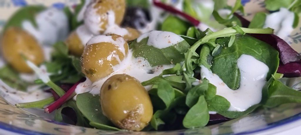 einfacher Salat von Rewe