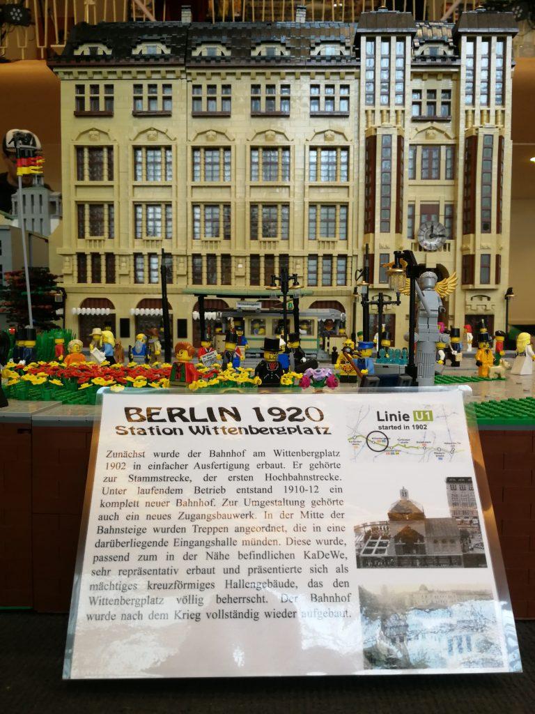 Die SteineWAHN! 2018 Klemmbausteine Ausstellung - Berlin Tegeler Seeterrassen